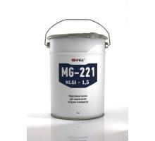 EFELE MG-221 (ведро 18 кг) Термо- и водостойкая смазка для сверхвысоких нагрузок