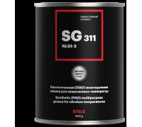 EFELE SG-311 (банка 0,8 кг) Синтетическая (ПАО)  многоцелевая смазка для сверхнизких температур