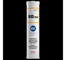 EFELE SG-393 (картридж 400 гр) Силиконовая уплотнительная смазка c пищевым допуском Н1
