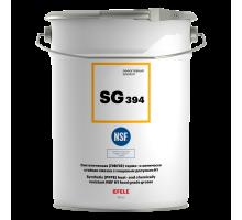 EFELE SG-394 (ведро 10 кг) Синтетическая (ПФПЭ) термо- и химически стойкая смазка c пищевым допуском Н1