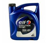Масло моторное Elf Evolution 900 NF 5W40 синтетическое 4 л