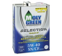 Масло  моторное MOLY GREEN SELECTION SN/CF 5W-40 4л