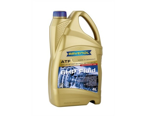 Купить трансмиссионное масло RAVENOL ATF 6 HP Fluid (1л)