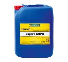Моторное масло RAVENOL Expert SHPD SAE 10w40 (20л)
