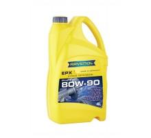 Трансмиссионное масло Ravenol EPX SAE 80w90 GL-5 (4л)