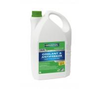 Антифриз готовый зеленый RAVENOL HJC -40°C (1,5л)