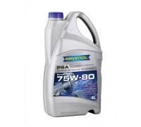 Трансмиссионное масло Ravenol PSA SAE 75w-80 (1л)