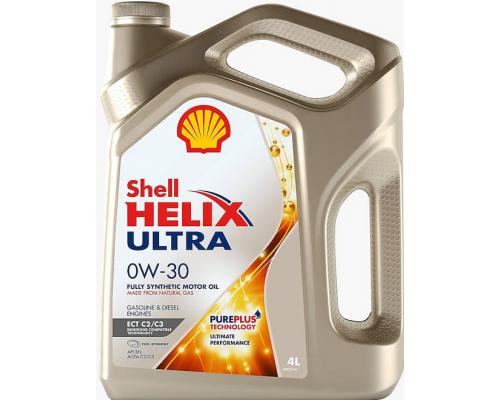 Моторное масло SHELL HELIX ULTRA ECT C2/C3  0W-30 1L