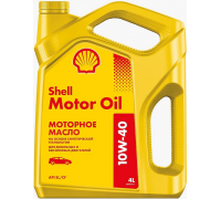 Моторное масло SHELL Motor Oil 10W-40 1L