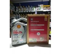 Моторное масло Shell Helix HX8 Ect 5W-30 4L