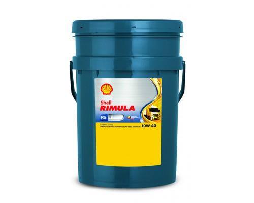 Купить оригинальное моторное масло для дизельных двигателей SHELL RIMULA R5 E10W40 20L
