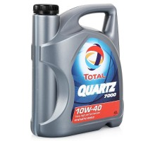 Масло моторное Total Quartz 7000 10W40 полусинтетическое 4 л
