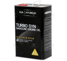 Моторное масло Kia Hyundai TURBO SYN 5W-30  metal 4L