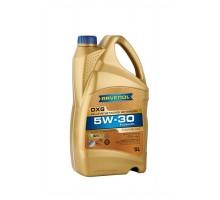 Моторное масло RAVENOL DXG SAE 5W-30 (4+1л)