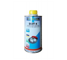 Тормозная жидкость RAVENOL DOT-4 (0,5 л) арт. 1350601-500-05-000