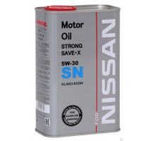 Моторное масло Nissan STRONG SAVE-X 5W-30 metal 4L
