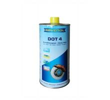 Тормозная жидкость RAVENOL DOT-4 (1 л) арт. 1350601-001-01-000