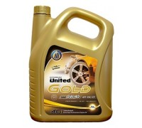 Моторное масло UNITED GOLD 5W-40 (4л)