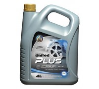 Моторное масло UNITED PLUS 10W-40 (4л)