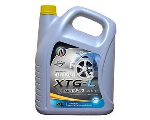 Моторное масло UNITED XTG-L 10W-40 (4л)