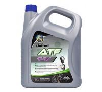 Трансмиссионное масло UNITED ATF T-IV (4л)