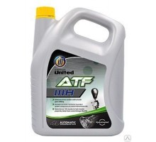 Трансмиссионное масло UNITED ATF DEXTRON IIIH RED (4л)
