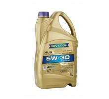 Моторное масло RAVENOL HLS SAE 5W-30 ( 4л)