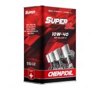 CHEMPIOIL Super SL 10W-40 metal 1L