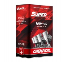 CHEMPIOIL Super SL 10W-40 пластик 5L